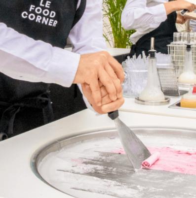 Le Food Corner-Ice Rolls Les Sucrés