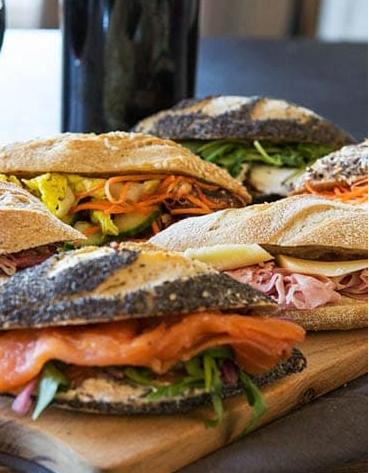 Good Morning Paris-mini sandwich