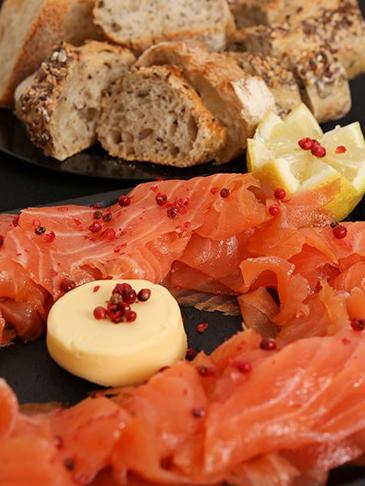 Good Morning Paris-Planche de saumon fumé & citron