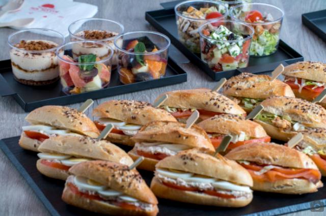 Mr Matin-Buffet Mini sandwichs