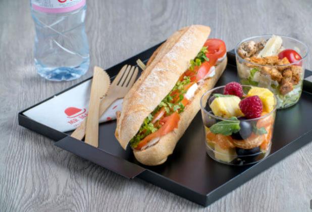 Mr Matin-Sandwich Végétarien