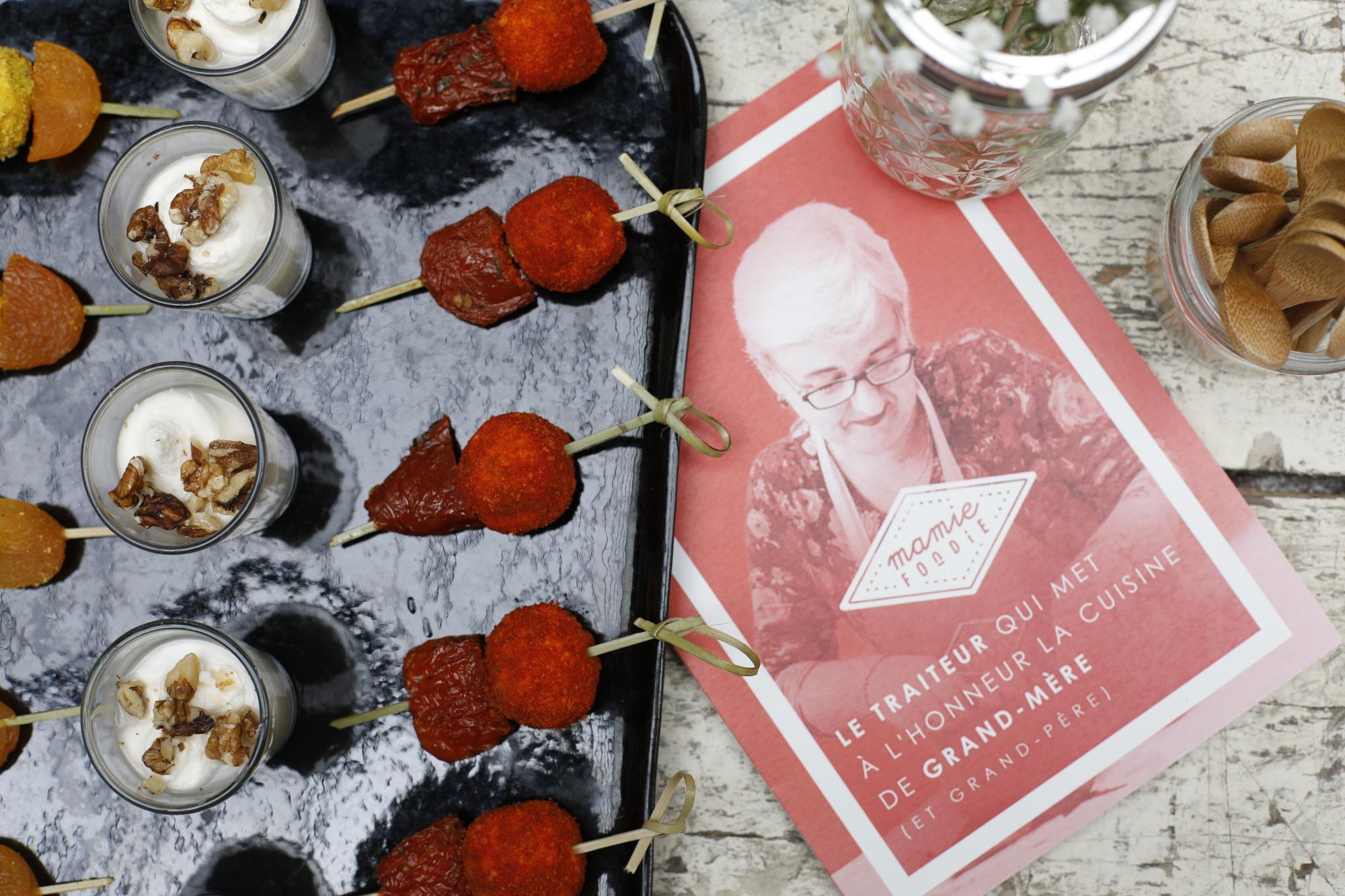 Mamie Foodie-Cocktail dinatoire