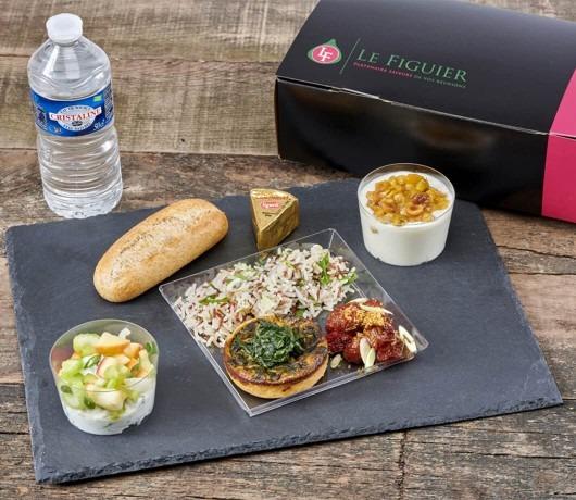Le Figuier-Lunch Box Végé