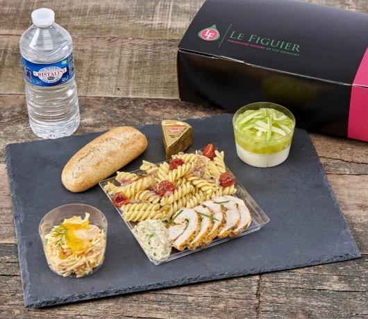 Le Figuier-Lunch Box Poulet