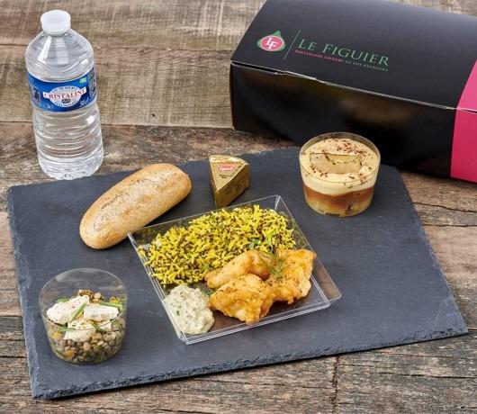 Le Figuier-Lunch Box Poisson