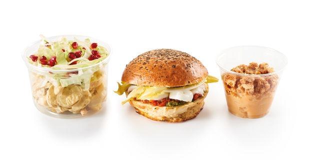 Room Saveurs-Sandwich végétarien