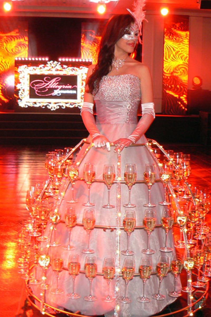 Robe champagne