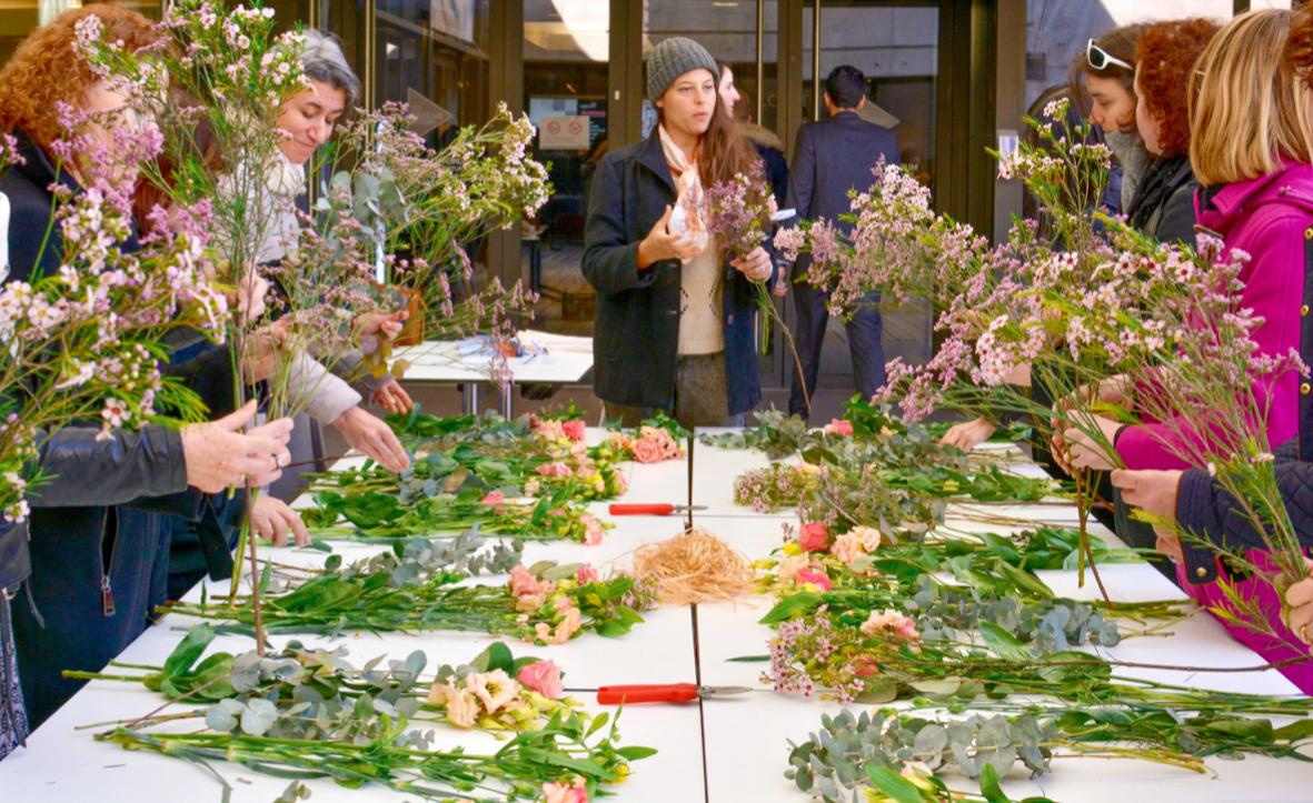Bouquet de fleurs fraiches
