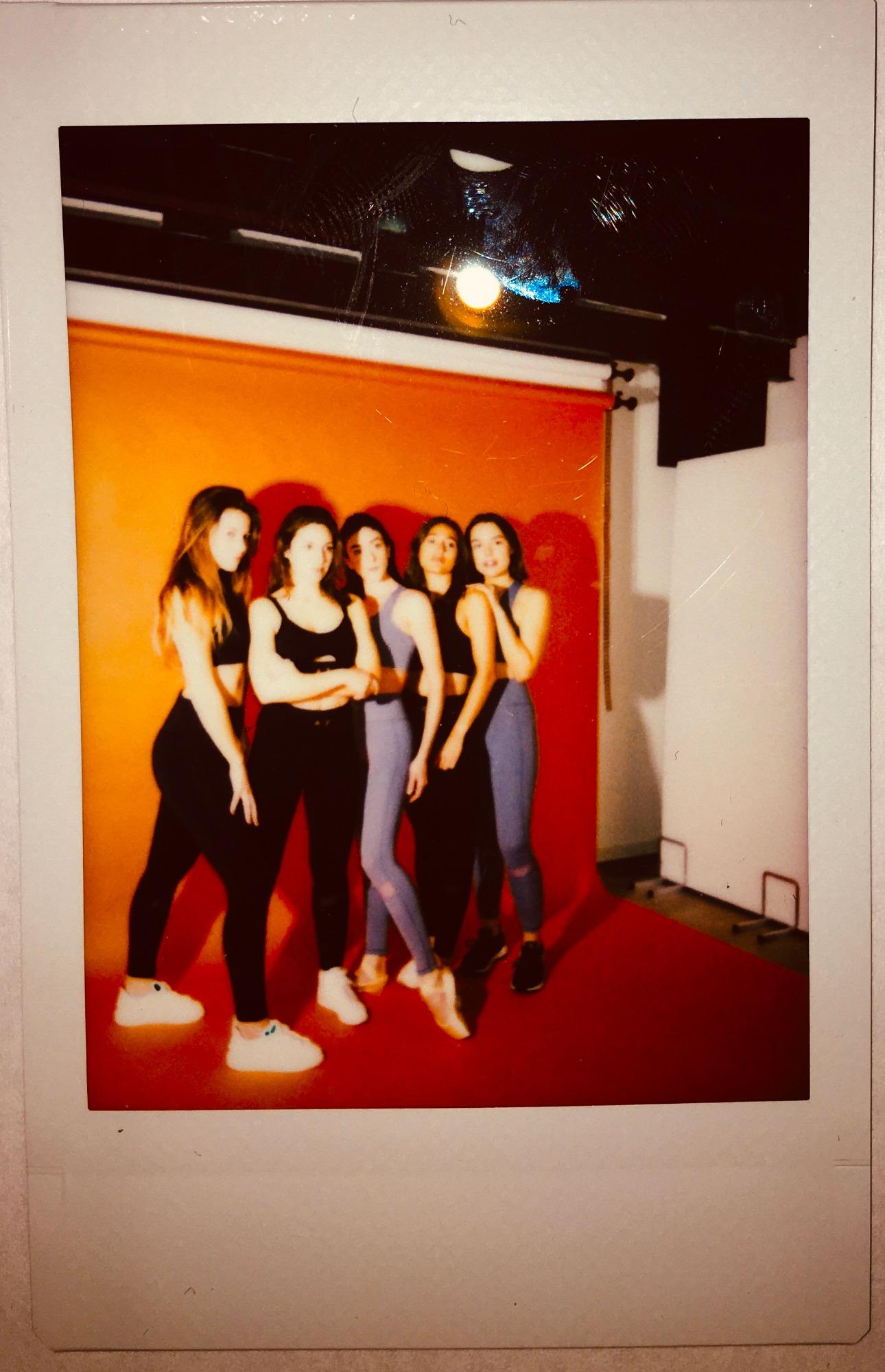 AZ/AR Burnin/Girl brassière legging